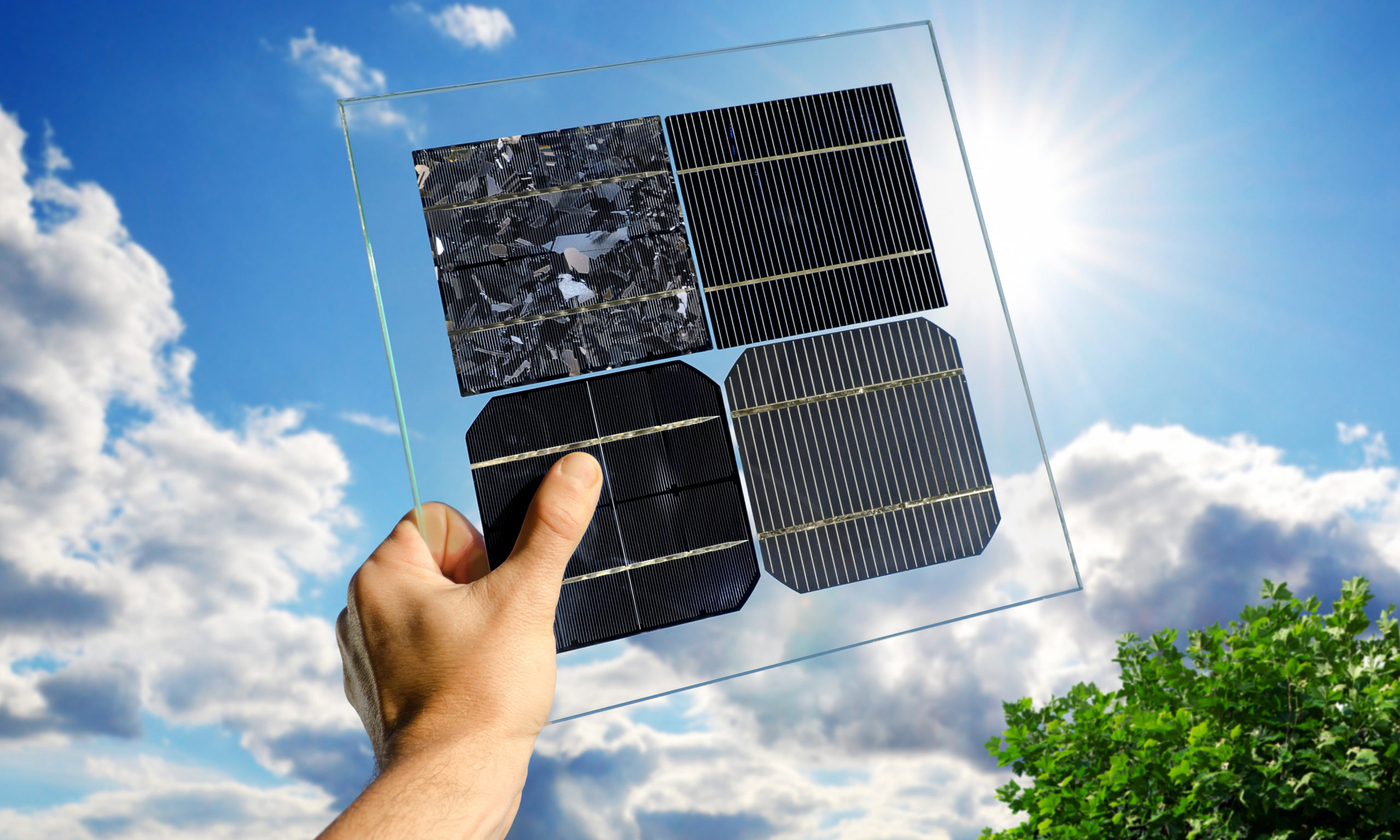 types of solar panels monocrystalline polycrystalline thin film